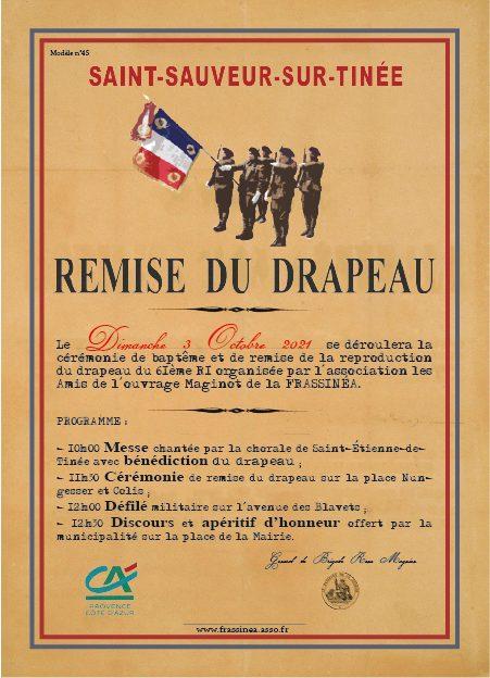 Cérémonie remise du Drapeau du 61ème RI